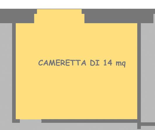 Dividere una cameretta for Arredare cameretta 7 mq