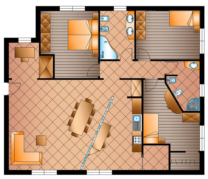 Soggiorno Living Con Cucina A Vista  HD Walls  Find Wallpapers