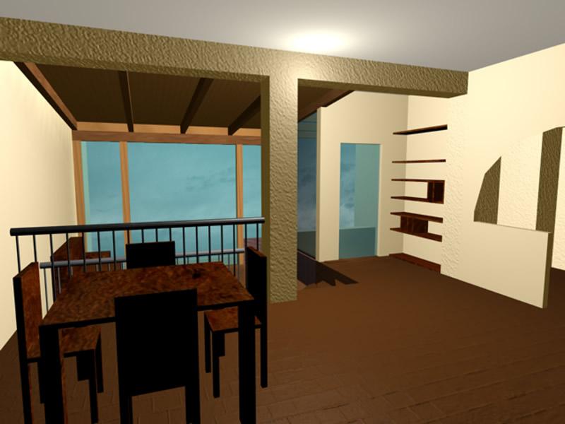 Ingrandire il soggiorno sala da pranzo - Cucina piu soggiorno ...