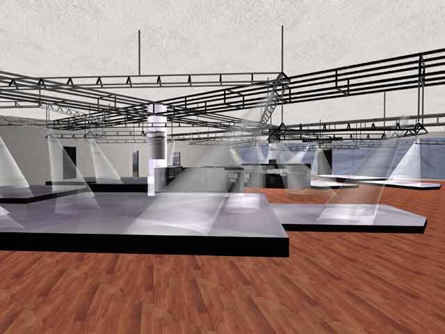 Salone esposizione negozio di moto for Costruire un capannone