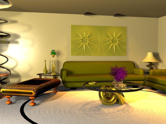 soggiorno classico chiaro  pasionwe, Disegni interni