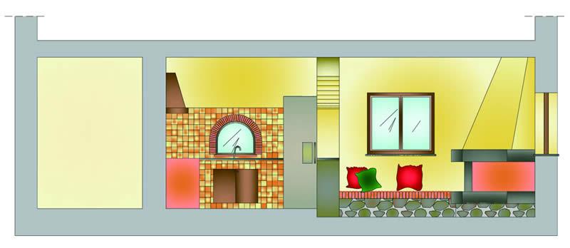 Da garage ad abitazione for Planimetrie dell appartamento del garage di una camera da letto