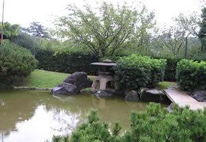 Giardino giapponese - cielo