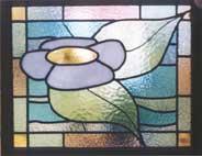 vetrata fiore
