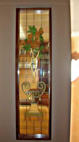 Vetri colorati per interni elegant comfort porte for Vetrate artistiche per porte interne