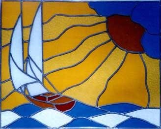Le vetrate artistiche - Vetri colorati per finestre ...