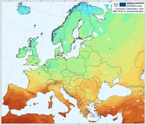 Photovoltaic Solar Electricity Potential of European Regions