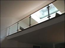 parapetto vetro - esempio 1