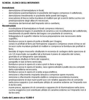 scheda - elenco interventi