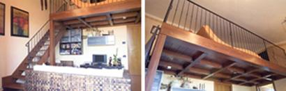 soppalco - struttura in legno