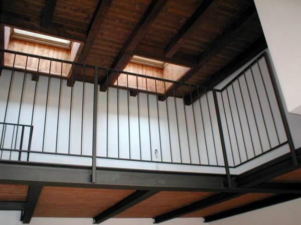 come fare solaio in legno in una piccola stanza : soppalco - struttura in legno