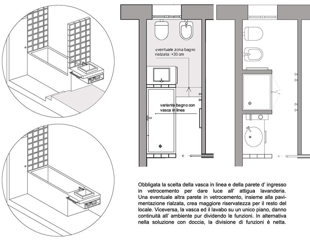 Progetto Bagno Con Doccia.Progetti Per Bagni Amazing Progetti Bagni Piccoli Con Idee Progetto